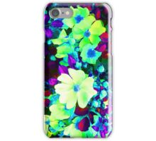 Neon Flowers iPhone Case/Skin