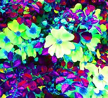Neon Flowers by Kellyanne