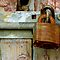 Rusty Padlock by Orla Cahill Photography
