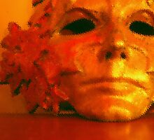 mask of georges face by Joie  Finley Morris