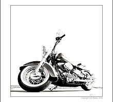 """""""Harley-Davidson Deluxe II"""" by Don Bailey"""