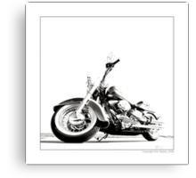 """Harley-Davidson Deluxe II"" Canvas Print"