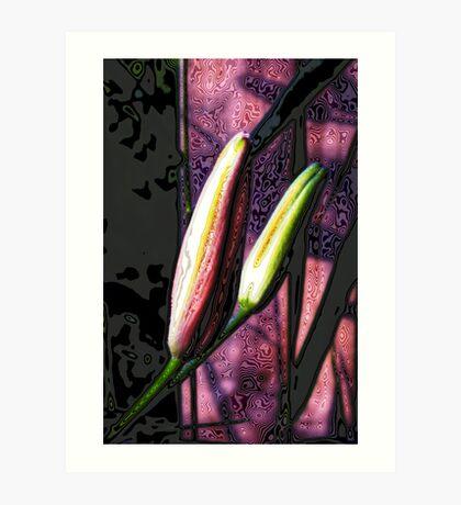 Buds Art Print