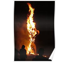 Father Time Aflame Poster