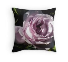Mystical Olde Worlde Rose Throw Pillow