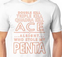 Alright... Who Stole My PENTA? Unisex T-Shirt