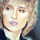Melissa Ethridge Color Pencil @ www.KeithMcDowellArtist.com by © Keith McDowell, Artist