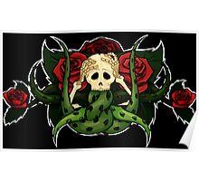 Vine Skull Poster