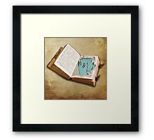 pocket pool Framed Print