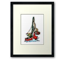 Waker of The Winds LOZ Framed Print