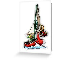 Waker of The Winds LOZ Greeting Card