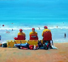 Attentive lifesavers by Ivana Pinaffo