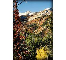 Lone Peak Wilderness Area from Alpine Loop Photographic Print