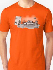 Retro Zombie Garage  Unisex T-Shirt