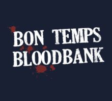 Bon Temps Bloodbank - white text by Adriana Owens