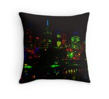 Waterfront III Throw Pillow