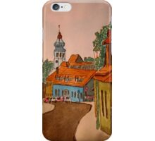 Street in Grinzing, Vienna - Austria iPhone Case/Skin