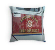 Flordia Firetruck Throw Pillow
