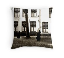 Following the Path Throw Pillow