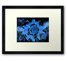 Decaying Time Framed Print