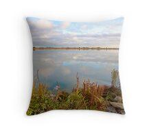 River Beauty Throw Pillow