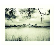 By the Thousand Islands (IR) Art Print