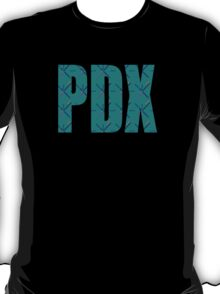PDX Portland Airport Carpet Oregon T-Shirt