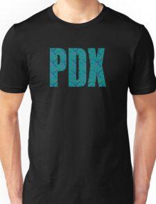 PDX Portland Airport Carpet Oregon Unisex T-Shirt