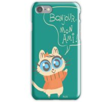 Bonjour Mon Ami iPhone Case/Skin