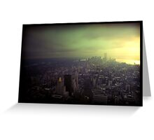 New York City, New York Greeting Card