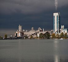 Industry on the River by David Friederich