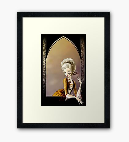 A Lady of the Court Framed Print