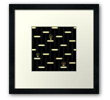 Idea: Light On Framed Print