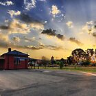 Wallangarra Station by David James