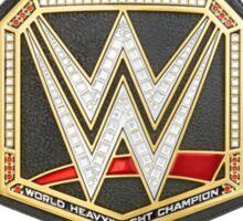 WWE World Heavyweight Championship Sticker
