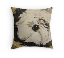 Guinea Pig Hut Throw Pillow