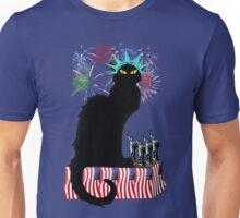 Lady Liberty - Patriotic Le Chat Noir  Unisex T-Shirt