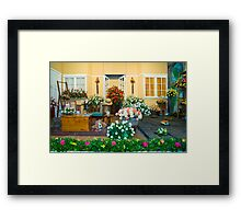 The Garden Entrance Framed Print