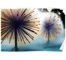 Dandylion Fountains Poster