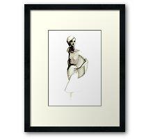 Peasant Girl Framed Print
