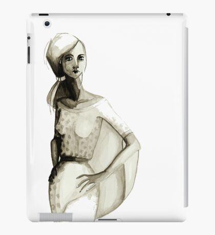 Peasant Girl iPad Case/Skin