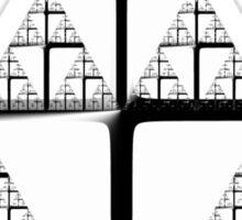 Sierpinski Triangle 20150124-001 Sticker