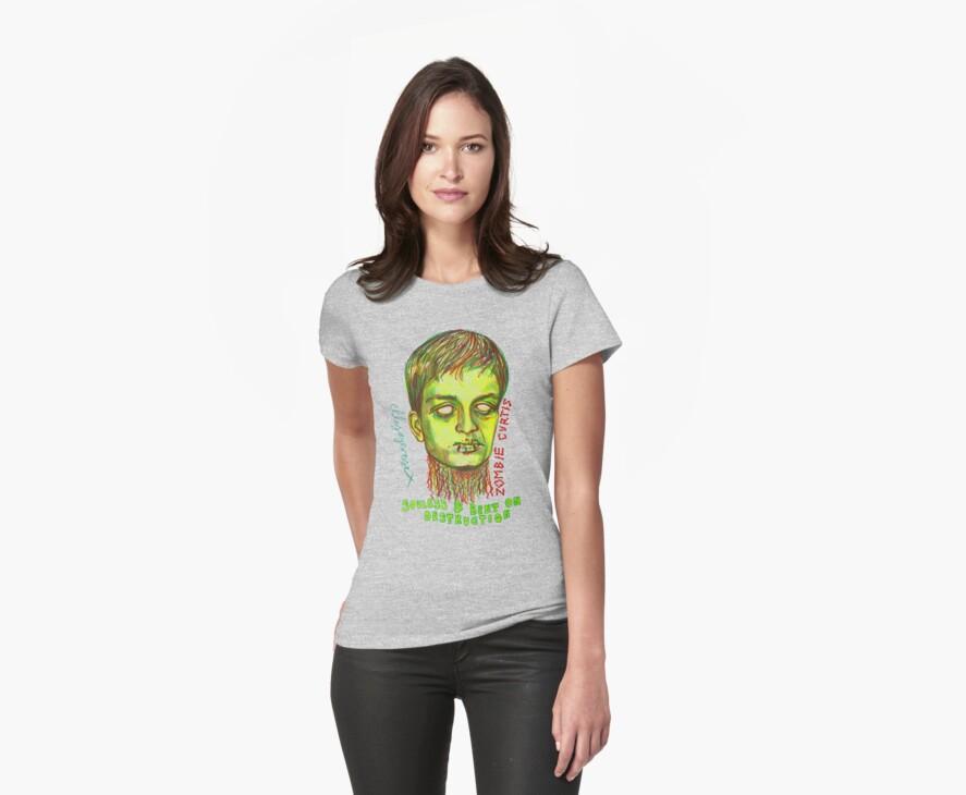 Zombie Curtis by ellejayerose