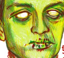 Zombie Curtis Sticker