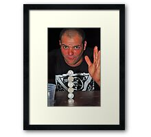 The Greatest Party Trick Framed Print