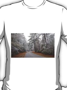 Snow Covered Forest T-Shirt