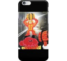 Back Alley Brawl iPhone Case/Skin