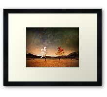 The Same But Different Framed Print