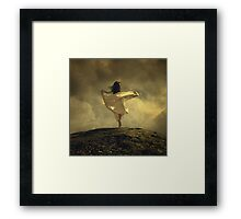The Tulip Dance Framed Print