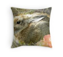 Too Cuddly Throw Pillow